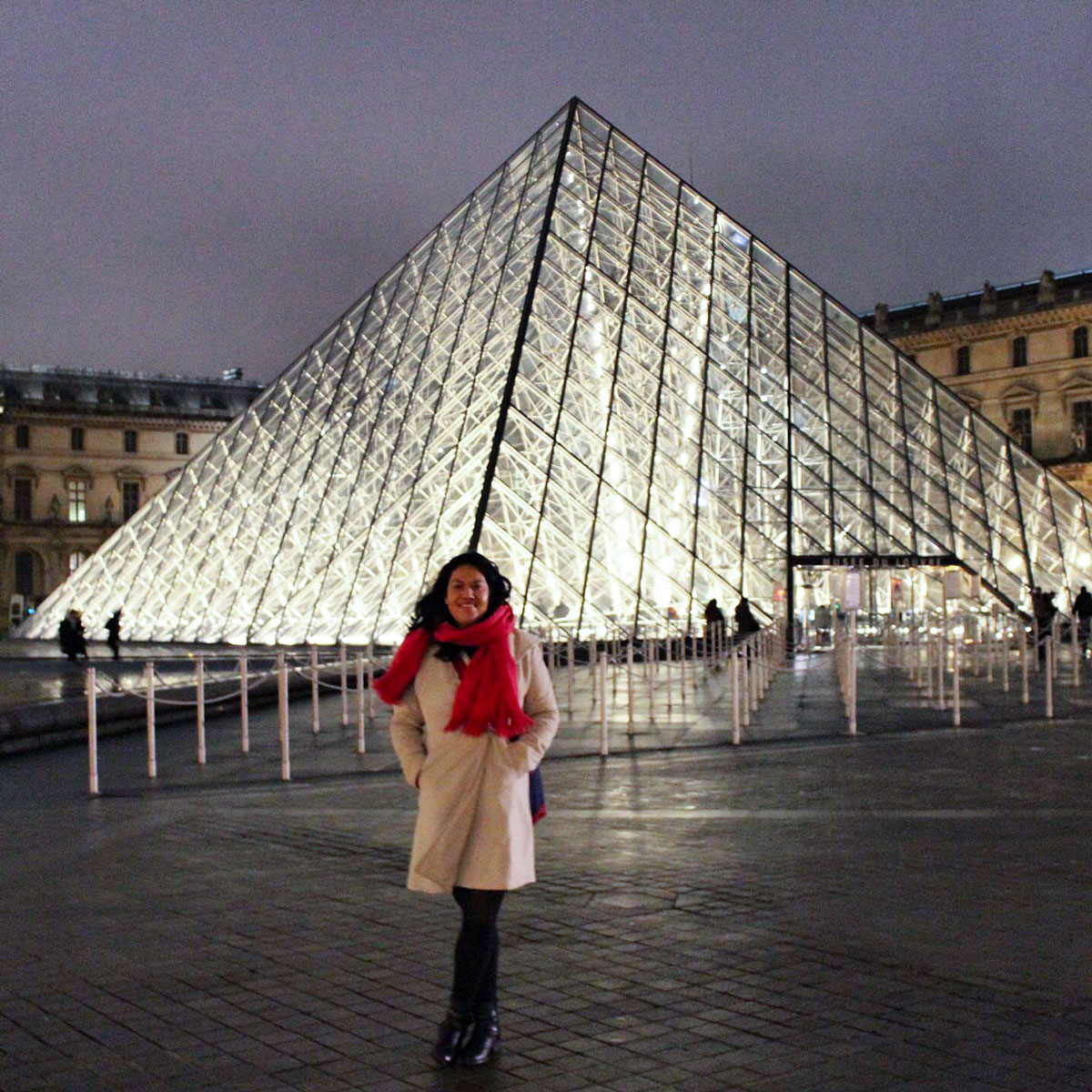 Louvre Tipps Pyramide