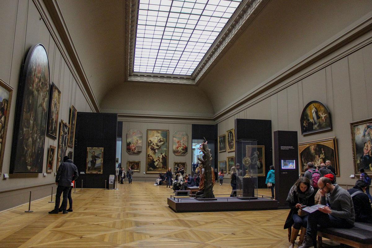 Louvre welche Gemälde ansehen