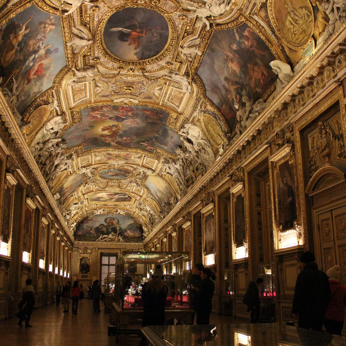 Kronjuwelen im Louvre