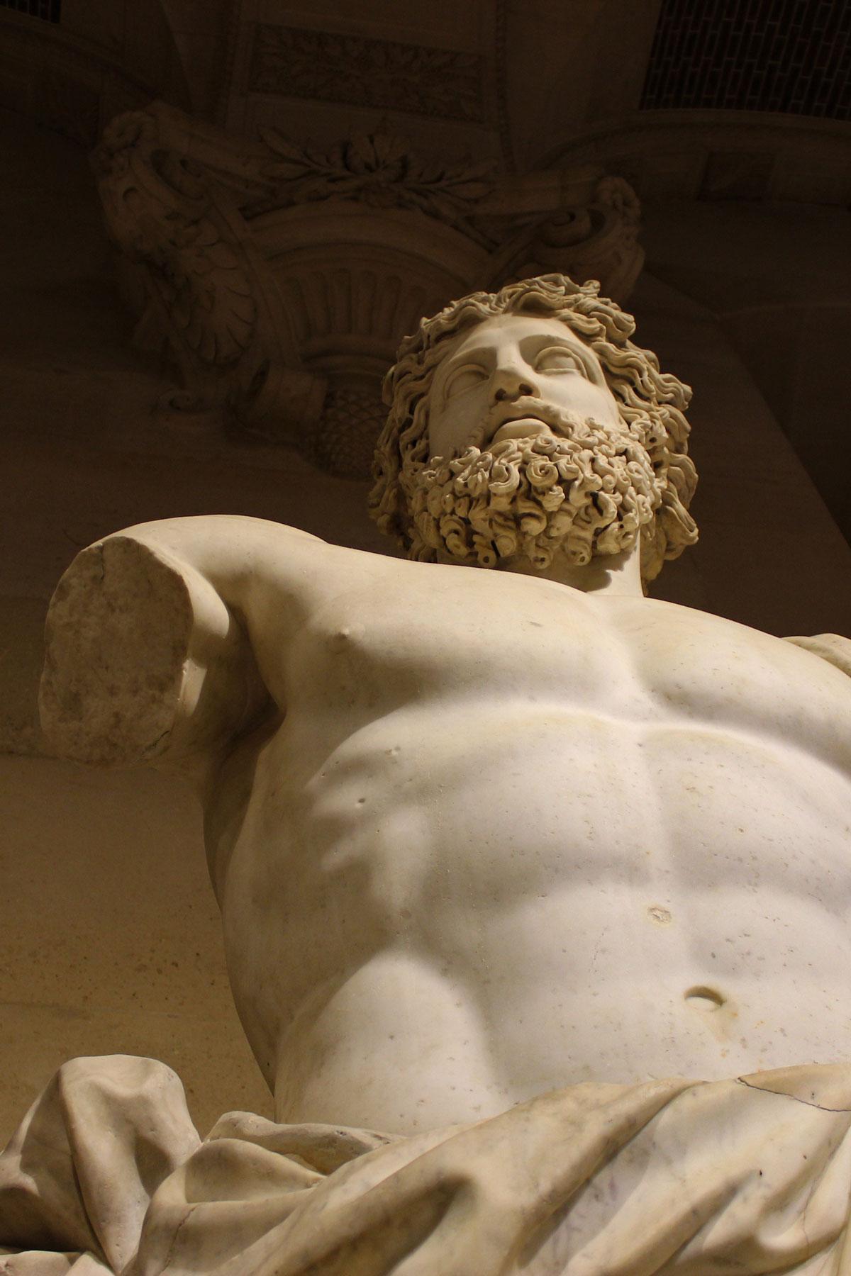 Antike Skulptur Louvre
